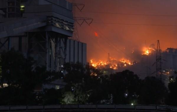 Ситуация с лесными пожарами в Турции остается напряженной