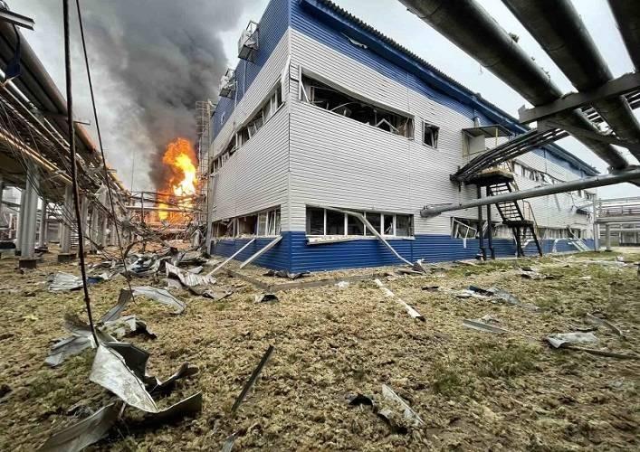 На газохимическом комплексе «Газпрома», недалеко от Нового Уренгоя, был потушен пожар