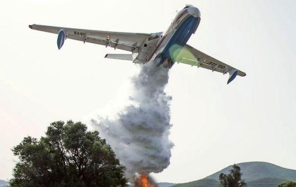 В Турции разбился российский самолет Бе-200