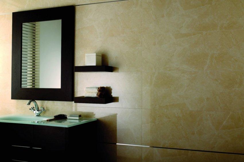 Мрамор в интерьере. Плитка Porcelanosa Kali – уникальная имитация натурального мрамора.