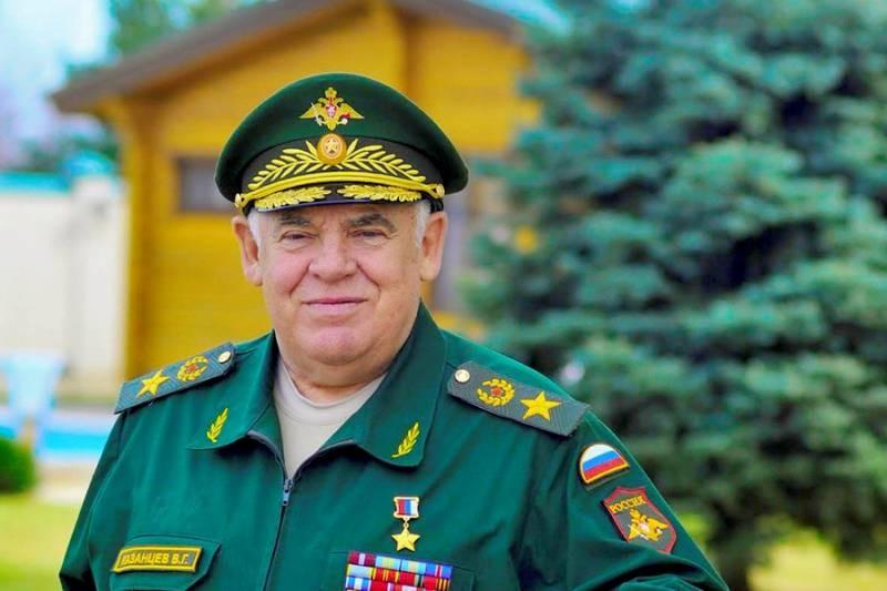В госпитале скончался экс-командующий войсками на Северном Кавказе генерал армии Казанцев