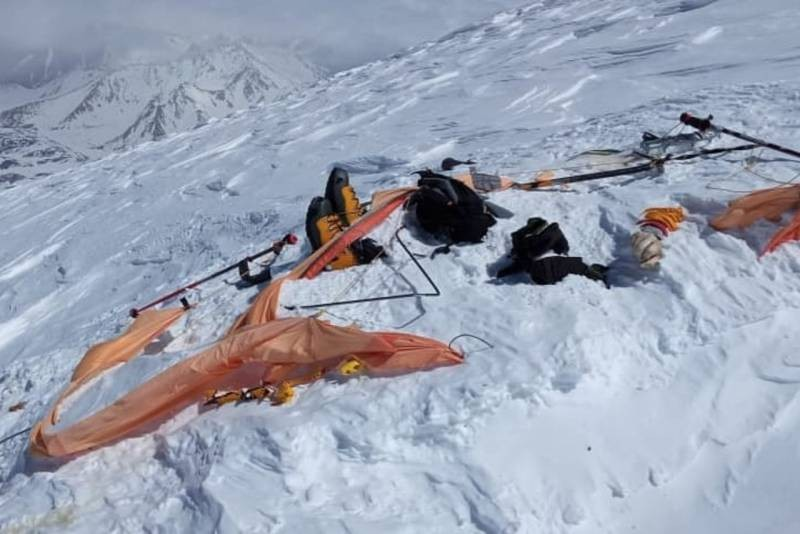 Пять альпинистов погибло во время восхождения на Эльбрус