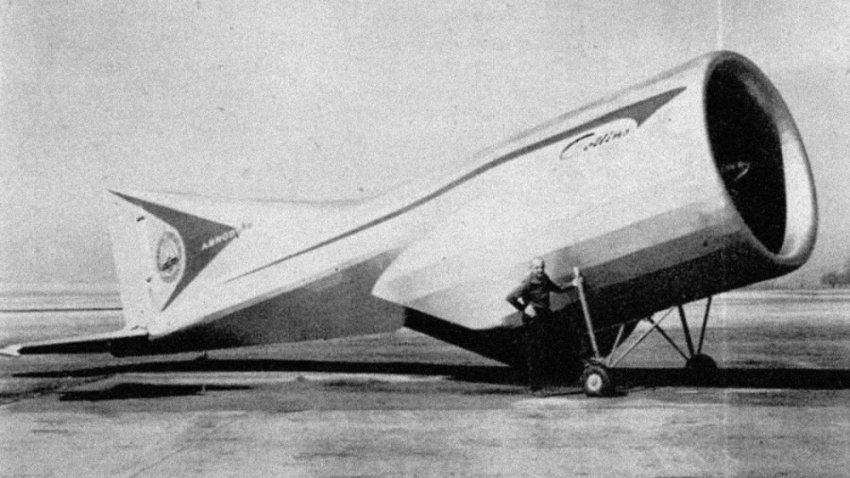 ТОП-11 Странных летательных аппаратов