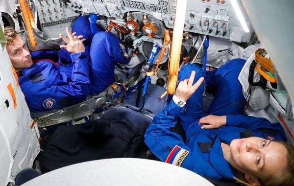 Стало известно, как себя чувствуют в космосе Пересильд и Шипенко
