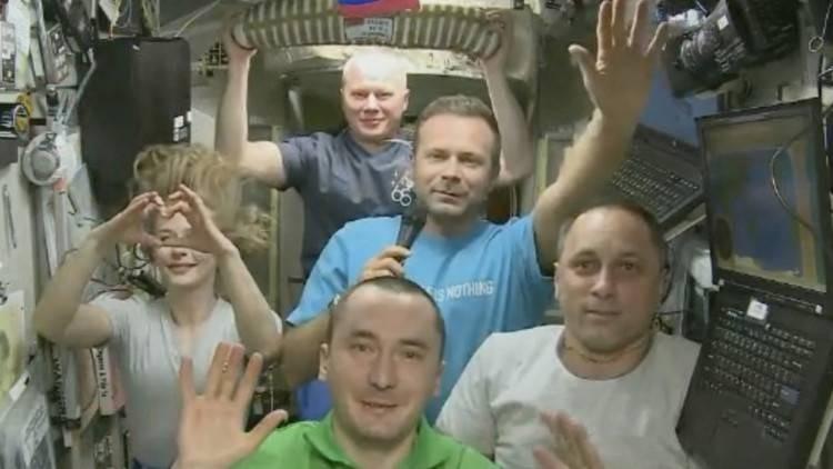 """Шипенко и Пересильд сняли на МКС две сцены нового фильма """"Вызов"""""""