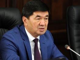 Новым премьер-министром Кыргызстана стал Мухаммедкалый Абылгазиев