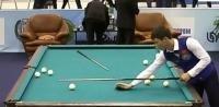 Два спортсмена из Кыргызстана вышли в в четвертьфинал чемпионата мира по бильярду