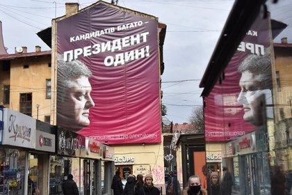 Порошенко назвал Путина главным противником на выборах