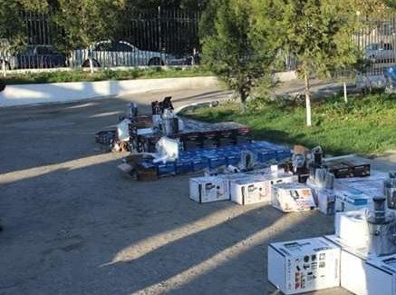 Через границу Кыргызстана и Узбекистана за ночь перебросили контрабандой товар на 1 млн сомов