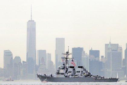 Американские эсминцы вошли в Персидский залив