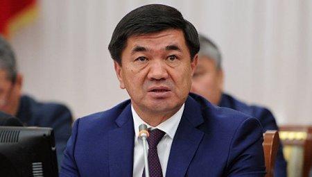Премьер-министр КР против передачи госкомпаний в частные руки