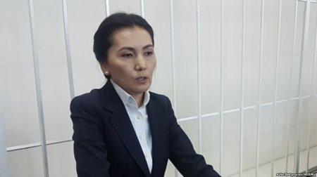 Бывший генпрокурор Аида Салянова задержана
